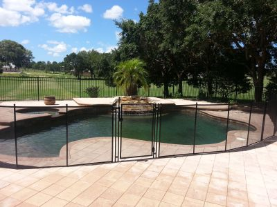 Baby Pool Fence in Palm Harbor