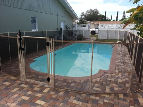 Pool Fence in Seminole