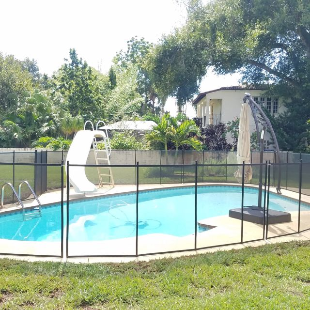 pool safety fence in seminole